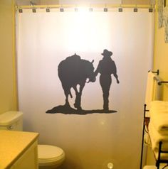 Shower Curtain Home Pinterest Shower Curtains Curtains And - Horse themed bathroom decor for bathroom decor ideas