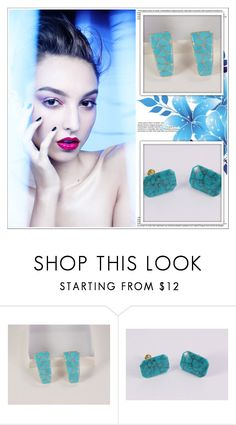 """""""Blue Passion"""" by shambala-379 ❤ liked on Polyvore featuring vintage"""