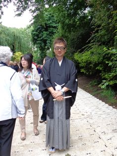 The designer of the beautiful Saga Prefecture garden in Kyushu Japan, Shuko Noda. Their objective was to showcase Saga to the world