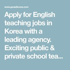 Apply for English teaching jobs in Korea with a leading agency. Exciting public & private school teaching opportunities countrywide, from Seoul to Busan. Carefully selected schools for first-time teachers and education majors. Working Holiday Visa, Working Holidays, Private School, Public School, List Of National Holidays, Korean Holidays, Liberation Day, Time In Korea