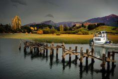 San Carlos de Bariloche. Hotel Llao Llao. Argentina. Landscape.