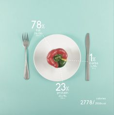 Infographic - Infographic Design - Designer charts his diet with beautiful data visualisations Food Design, Design Design, Design Trends, 3d Data Visualization, Cookbook Design, Creative Infographic, Protein, Food Porn, Dashboard Design