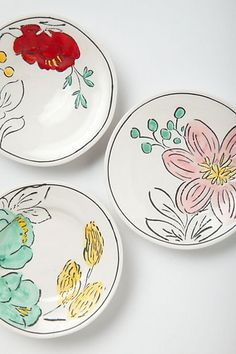 trinket dishes from Anthro, probably Molly Hatch designs