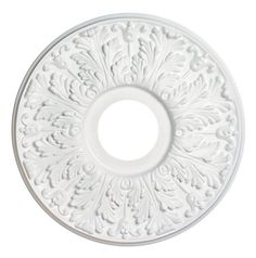 "16"" Victorian Molded Plastic Ceiling Medallion - Lighting Supply Group"