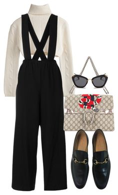 """Sin título #4184"" by camilae97 ❤ liked on Polyvore featuring Gucci and Miu Miu"
