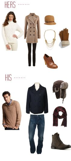 Engagement Style for Winter inspiration Fall Engagement Outfits, Winter Engagement Pictures, Engagement Couple, Engagement Session, Family Photo Outfits, Couple Outfits, Flattering Outfits, Foto Casual, Clothing Photography