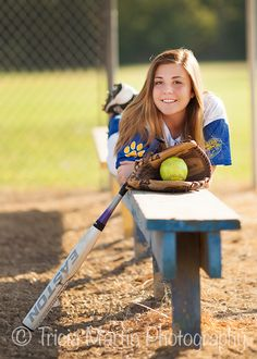 Softball pic idea