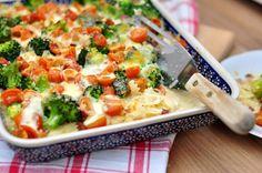 Zapiekanka makaronowa z warzywami i mozzarellą - kulinarna piniata - przepisy kulinarne ze zdjęciami oraz kulinarny lifestyle