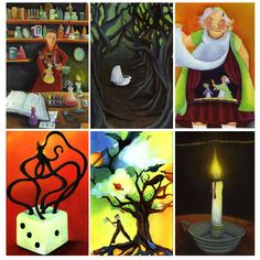 Dixit is a story-telling& board game (which reminds me eerily of TAT, the most ridiculously skewed psych test in the known universe imho *snerk*) currently being discussed on Aeclectic Tarot… Psych Test, Oeuvre D'art, Storytelling, Tarot, Board Games, Activities, Education, Creative, Artwork