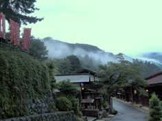 Through the Sapphire Sky: Tsumago-juku, an old post town - the flavor of the Edo period #japan #nakasendo