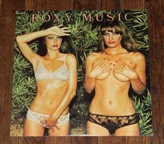 Roxy Music Country Life Lp Vinyl 1974 Original cover / Pink Rimmed island label