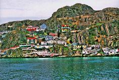 newfoundland & labrador, canada {colourful places & spaces} « plenty of colour