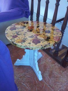 """Vintage table  """" Artesonia costa del sol """" España"""