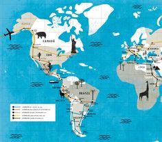 Mauricio Pierro - Mapas e Ilustrações