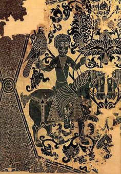 Fondation Abegg Stiftung Falconer on horseback Silk double-cloth, Iran, 11th century. oriental - [MA] textile oriental : pièces archéos et autres infos