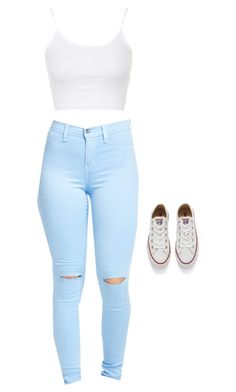"""""""Untitled #4"""" by agatha-namubiru on Polyvore featuring Topshop and Converse"""