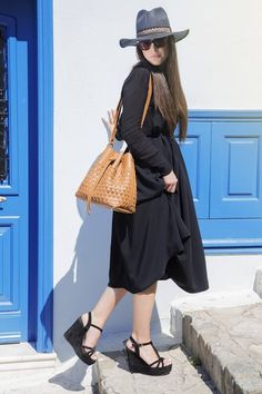 Elena Athanasiou exclusive bags.   Living Postcards - The new face of Greece