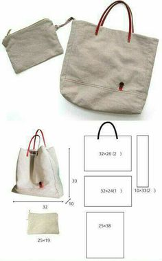 Best 12 This is plain white canvas bag for DIY. Product ranges: various blank canvas bags,pouches,cases. Sacs Tote Bags, Cotton Tote Bags, Handmade Bags, Leather Bags Handmade, Linen Bag, Patchwork Bags, Bag Patterns To Sew, Denim Bag, Fabric Bags