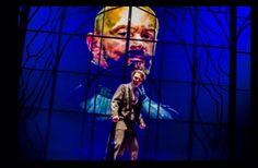 Marcin Kwaśny jako Poeta, Wesele, Teatr Polski w Warszawie, fot. Krzysztof Bieliński