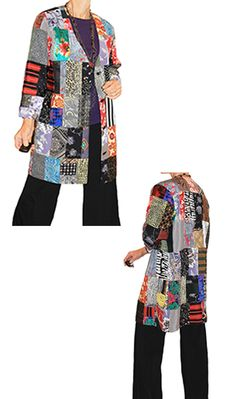 Found Fabric Projects: Gypsy Jacket! Cut up your found fabric stash and make a patchwork jacket