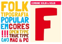 Folk  Playful but still well-designed, the Folk font lends itself great to show posters and organic-style design.