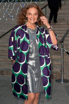 DVF  She'll never lose the sexy.  One of Forbes 100 Most Powerful Women 2012