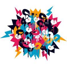 Camiseta 'Balaio de Gato' - Catalogo Camiseteria.com | Camisetas Camiseteria.com - Estampa, camiseta exclusiva. Faça a sua moda! Geek Stuff, T Shirt, Inspiration, Art, Making T Shirts, Animals, Block Prints, Gatos, Geek Things