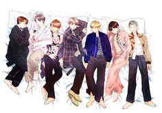 Bangtan WINGS Concept Photo 4 Art ❤ (My most recent favorite fanart ^^) #BTS #방탄소년단