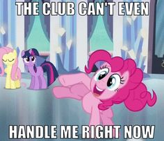 Pinkie in the club .gif