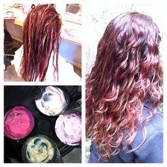 Blending Pink hair..