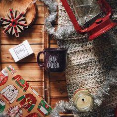 Новый год, декор, украшения праздник, кофе, flatlay, флэтлэй