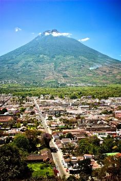 I wish I were here. Antigua, Guatemala