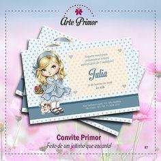 Convites Infantis de aniversário... Para mais informações, acesse o nosso site: http://arteeprimor.wix.com/arteprimor