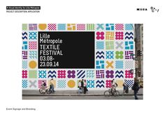 Lille Metropole_A Flexible Visual Identity by Nour Tabet, via Behance