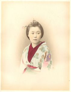 Japan, Japanese Young Lady     #Asie_Asia #Japon_Japan