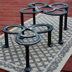 Rugged outdoor Firepit stand Dutch Oven by BlacksmithCreations