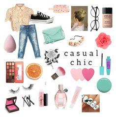 """""""Senza titolo #64"""" by emmizzzz on Polyvore featuring moda, self-portrait, Sans Souci, Converse, Apt. 9, Forever 21, Tory Burch, Accessorize, Too Faced Cosmetics e MAKE UP FOR EVER"""