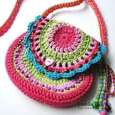 Crochet pattern by VendulkaM San Francisco purse by VendulkaM