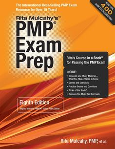 PMP Exam Prep (Eighth Edition) : Rita's Course in a Book for Passing the PMP Exam by Rita Mulcahy