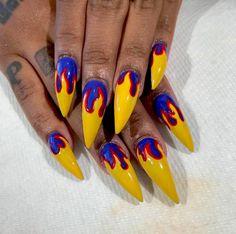 Pure flames. // #beauty #nailart #nails