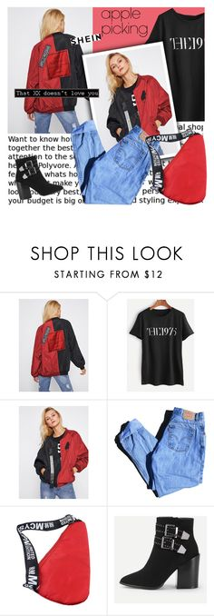"""""""Harvest Time: Apple Picking"""" by lacas ❤ liked on Polyvore featuring Levi's and applepicking"""