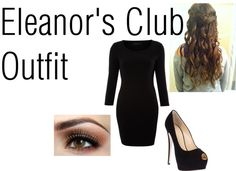 """""""Eleanor's Club Outfit"""" by jennlawrenceluvv ❤ liked on Polyvore"""