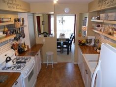 Audrey's Comfy Cork Floor Kitchen — Small Cool Kitchens 2013