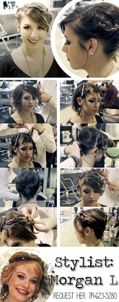 tutorial more braided updo updo pictorial future professionals 1
