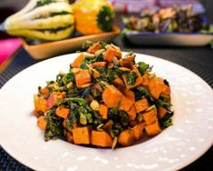 Red Yam and Kale Salad Recipe | The Daily Meal
