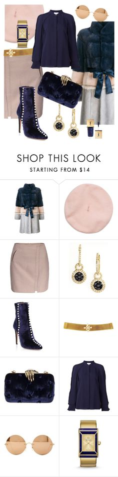 """Lisa classic"" by i-rusche on Polyvore featuring Liska, Effy Jewelry, Aquazzura, Benedetta Bruzziches, 3.1 Phillip Lim, Victoria Beckham, Tory Burch and Christian Dior"