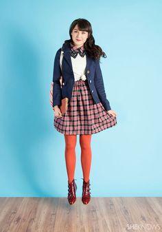 #modcloth school girl style 인형 배경으로 좋을듯