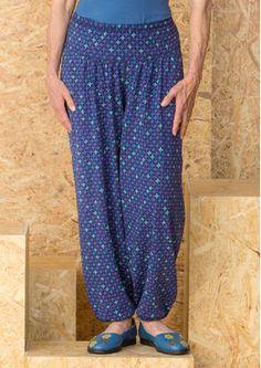"""Kalhoty """"Plus"""" z organické bavlny / spandex 60306-60.jpg"""