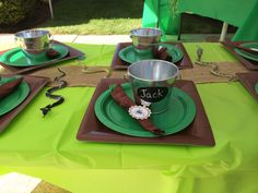 Create a Traveling Nature Cass party.