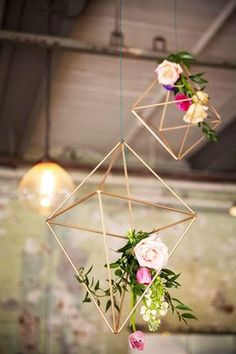 Diamonds In The Sky - 16 Design Ideas To Steal From Summer Weddings - Photos